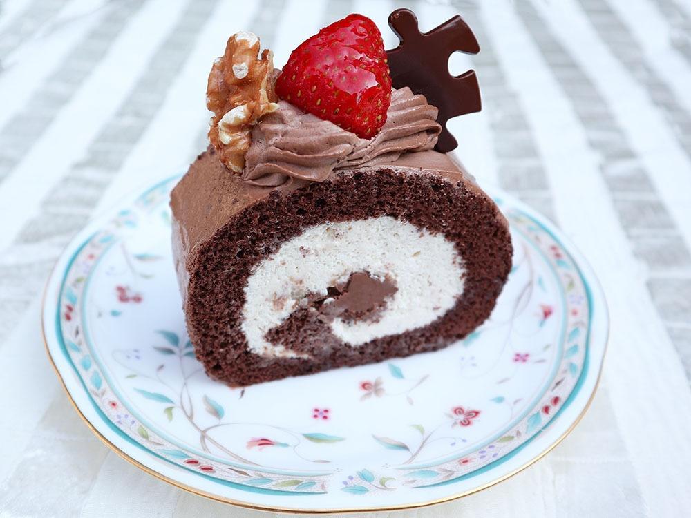 贅沢チョコロール