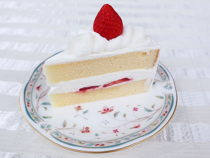 リニューアル!苺のショートケーキ
